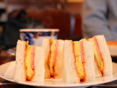 【喫茶デジャーブ@豊中市】丁寧に作られるモーニングの玉子サンドが激ウマ!阪大の近くに世界三大美玉子サンドありっ!